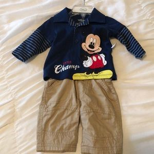 Mickey Mouse Disney outfit